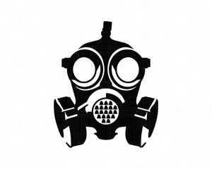 military gas mask SVG file, corona virus DXF, coronavirus clipart, covid-19 eps, vector cut file for cricut and silhouette