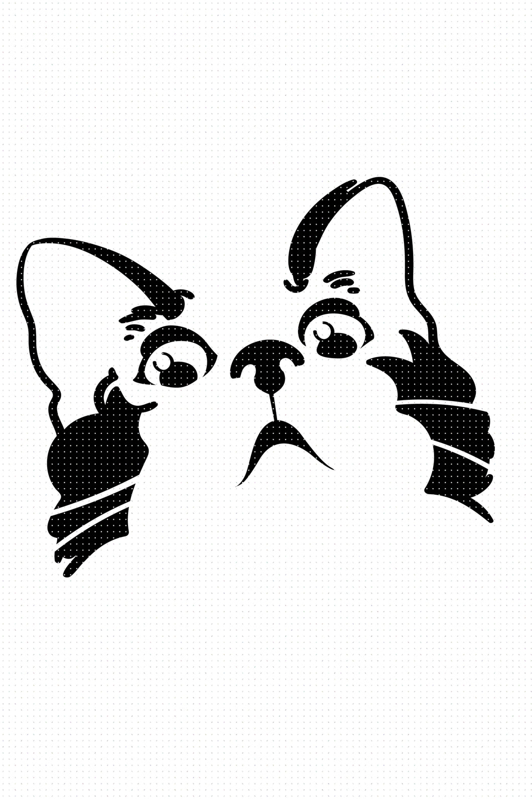 free shocked cat SVG, PNG, DXF, clipart, EPS, vector cut file instant download for personal use