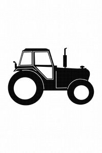 FREE tractor SVG, PNG, DXF, clipart, EPS, vector cut file instant download