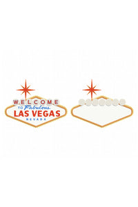 las vegas sign SVG, PNG, DXF, clipart, EPS, vector cut file instant download