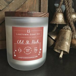 Old St. Nick Candle