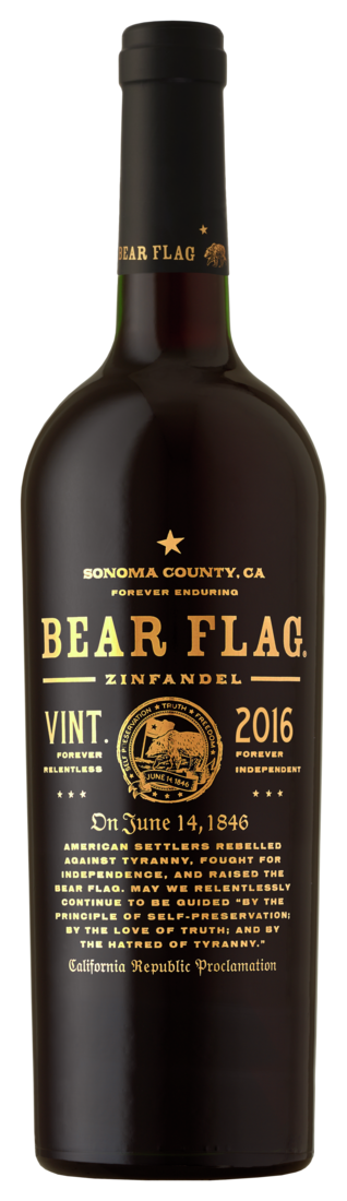 Bear Flag, Zinfandel, 2017