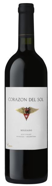 Corazon De Sol, Soleado, Bordeaux Red Blend, 2015