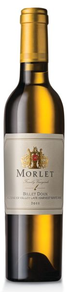 Morlet, Billet Doux Late Harvest, Semillon, 2011