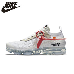 NIKE X Off White VaporMax 2.0 Authentic AIR MAX Breathable Men's Running Shoes Sport Outdoor Sneakers AA3831-100 EUR Size M