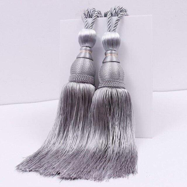 A Pair of Curtain Tassel Tie Back