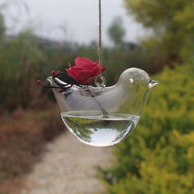 Bird Shape Hydroponic Glass - Luxsear Décors