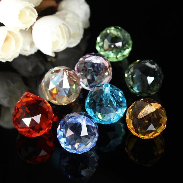 Crystal Chandelier Prisms & Sun Catcher Pendants