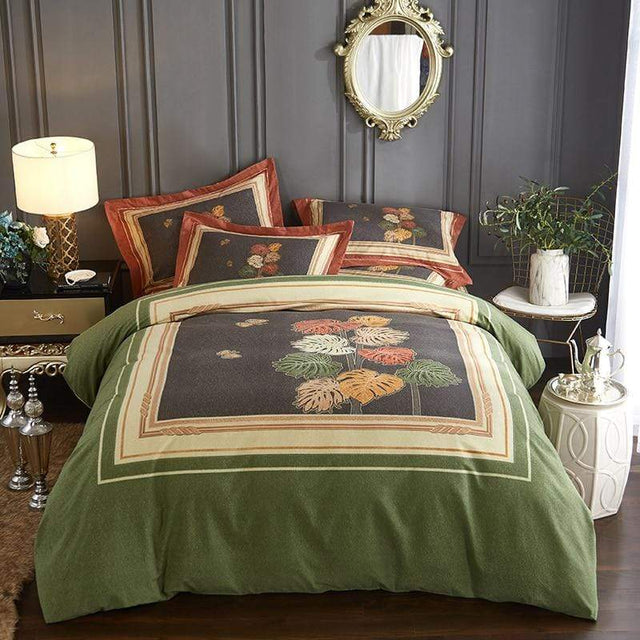 Designer Bedding with Plant Design