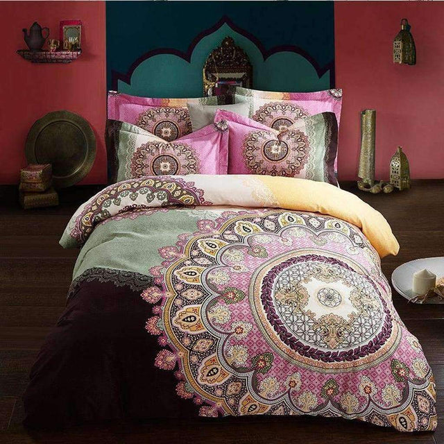 Goddess Made 4 Pieces Duvet Cover Set - Luxsear Décors