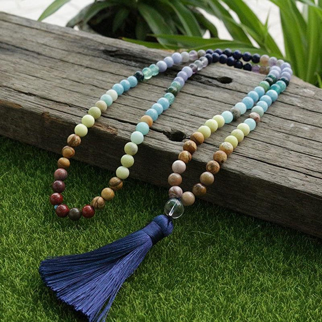 Peaceful Glow Mala Necklace Necklaces