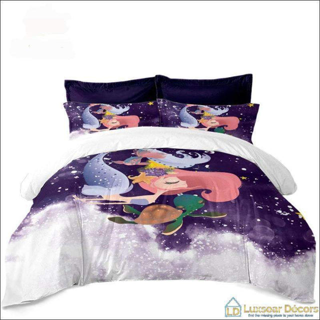 Mermaid Bedding Set - Luxsear Décors