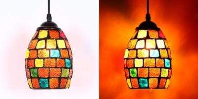 Moroccan Decor Mosaic Lights E27 Base