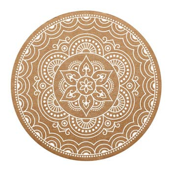 Mandala Coaster Set - 8 Pack