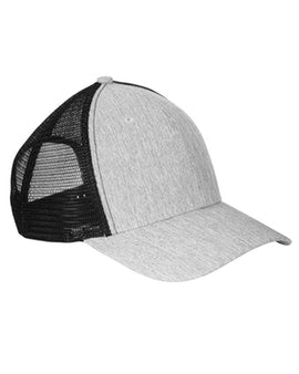 Light Grey & Black Trucker