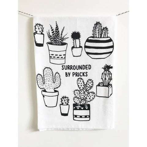**PRESALE** Surrounded by Pricks Dish Towel