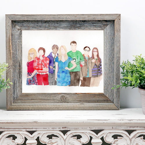 Big Bang Theory Print