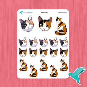 Calicos Stickers