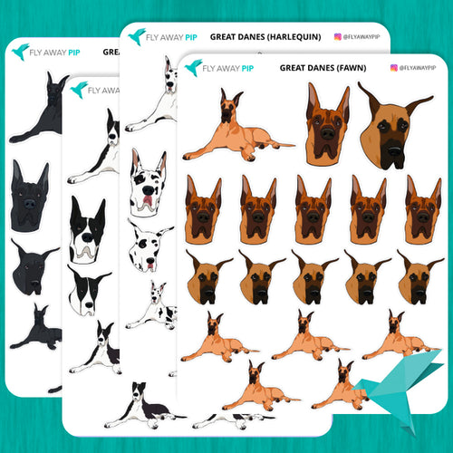 Great Dane Stickers