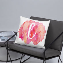 "Load image into Gallery viewer, Watercolour ""l"" Pillow"