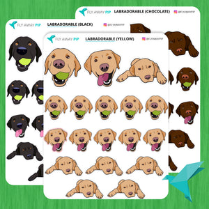 Labrador Retriever Stickers
