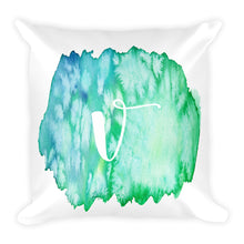 "Load image into Gallery viewer, Watercolour ""v"" Pillow"