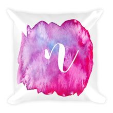 "Load image into Gallery viewer, Watercolour ""n"" Pillow"