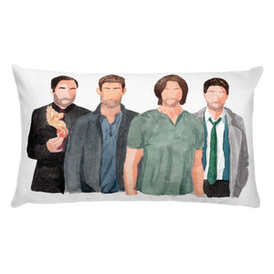 Supernatural Throw Pillow