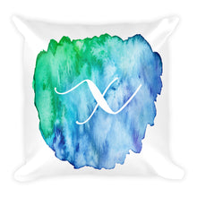 "Load image into Gallery viewer, Watercolour ""x"" Pillow"