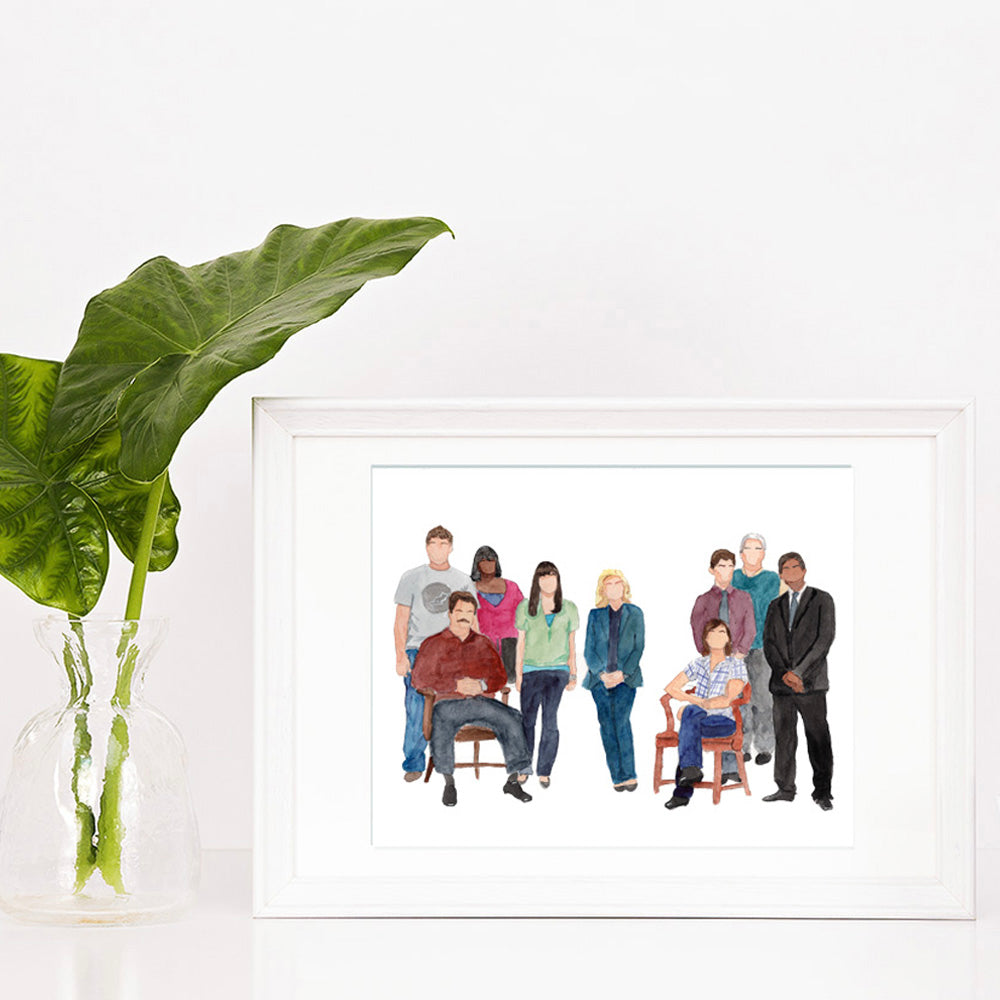 Parks & Recreation Print