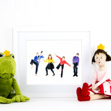 Load image into Gallery viewer, The Wiggles Print