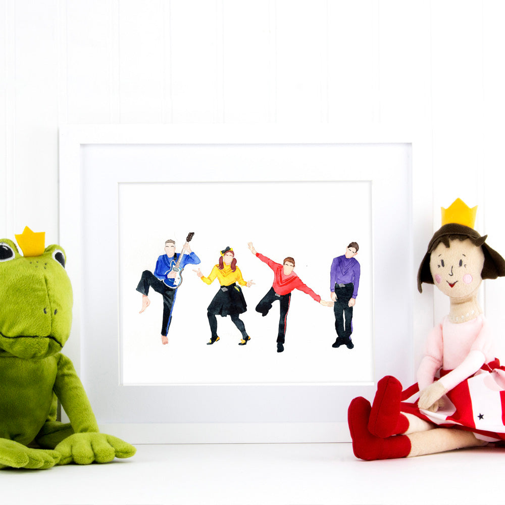 The Wiggles Print
