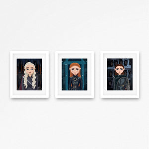 """But We Are Not Men"" (Set of 3 Prints)"