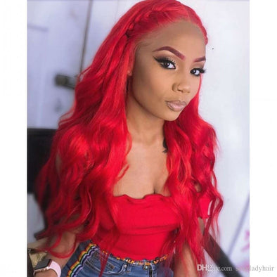 Body wave Red wig - Gothaalliance