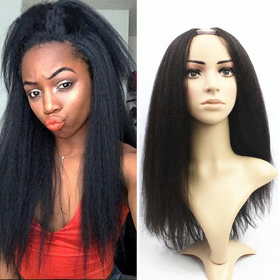 Yaki Straight U Part Wig - Gothaalliance