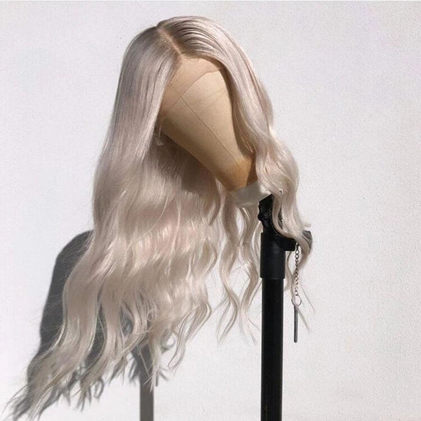Lace Front Wig Cool Blonde - Gothaalliance