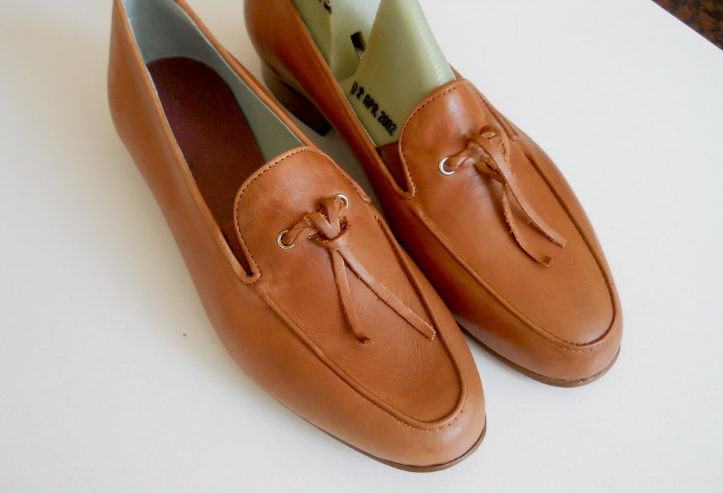Maeso Vegetable Tanned Leather Women Shoes Loafer