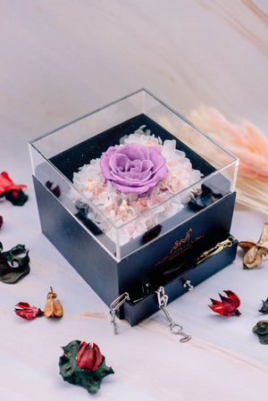 Amethyst - Jewelry Box