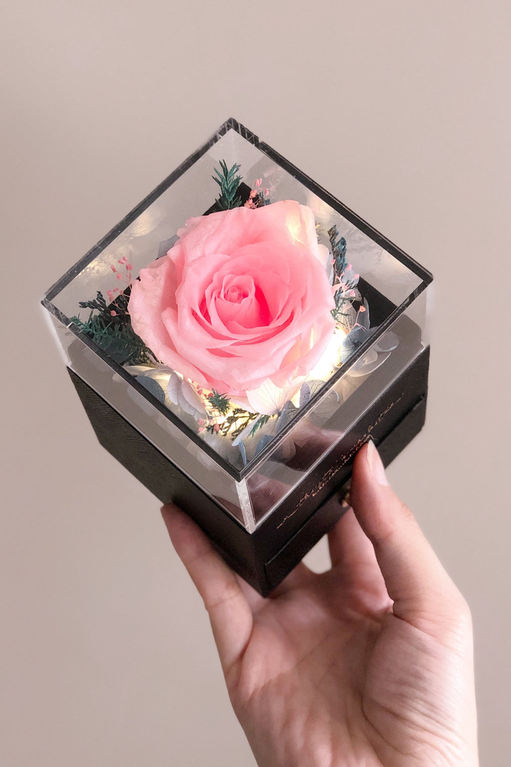 (MINI) Peach Pink - Jewelry Box