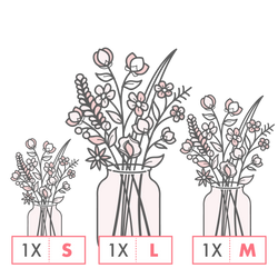 Subscription 3 FieldBouquets