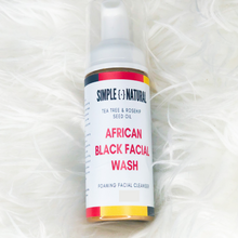 Load image into Gallery viewer, African Black Facial Wash - Simple Dot Natural