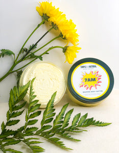 7AM - 8oz Whipped Body Butter - Simple Dot Natural