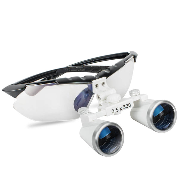 Dental Binocular Loupes 3.5X 320mm Optical Glass Loupe for Surgical Medical