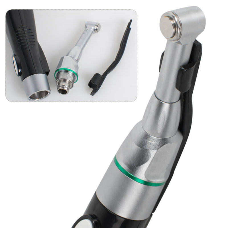 Dental LED Wireless 16:1 Reduction Contra Angle Endo Motor Root Canal