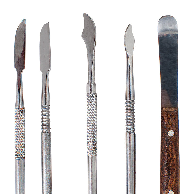 Dental Lab Stainless Steel Kit Wax Carving Tool Set Instrument