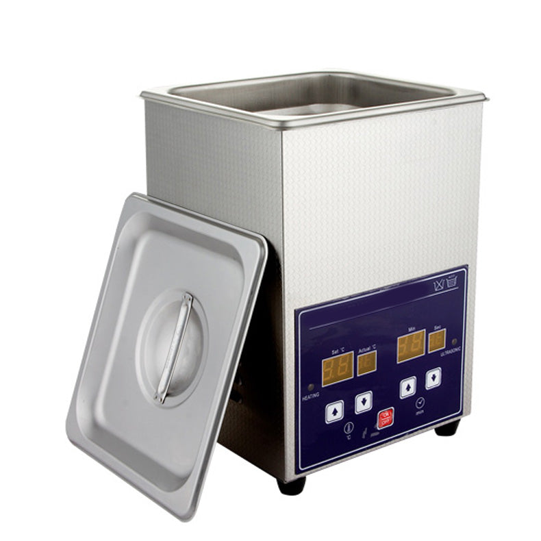 2L Digital Ultrasonic Cleaner Timer Heated Cleaning With LED Display