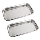 1 PCS Dental Stainless Steel Medical Tray Lab Instrument High Quality Useful