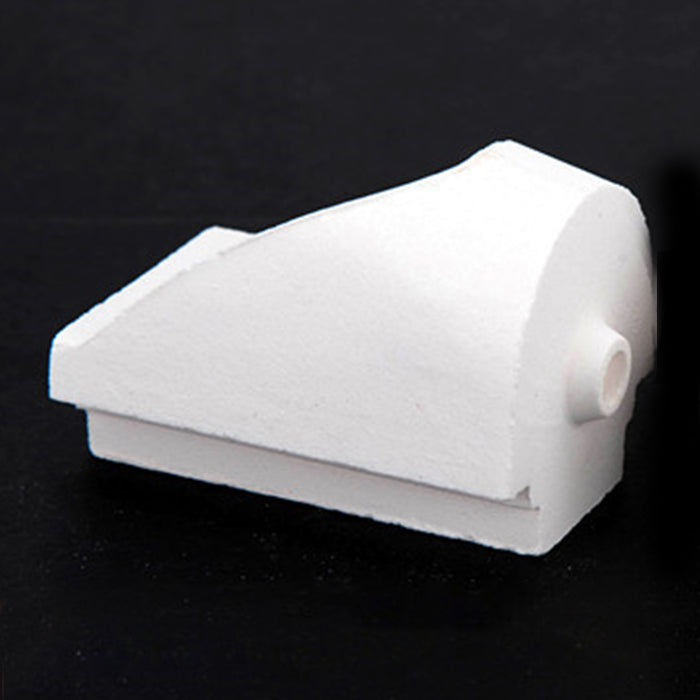 2 Dental Lab Hooded Casting Quartz Crucibles