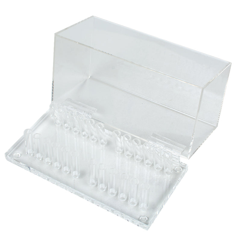 Dental Acrylic Organizer Holder Case for Orthodontic Preformed Wire