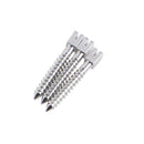 120Pc/pack Assorted Stainless Steel Dental Conical Screw Posts Kits Refill
